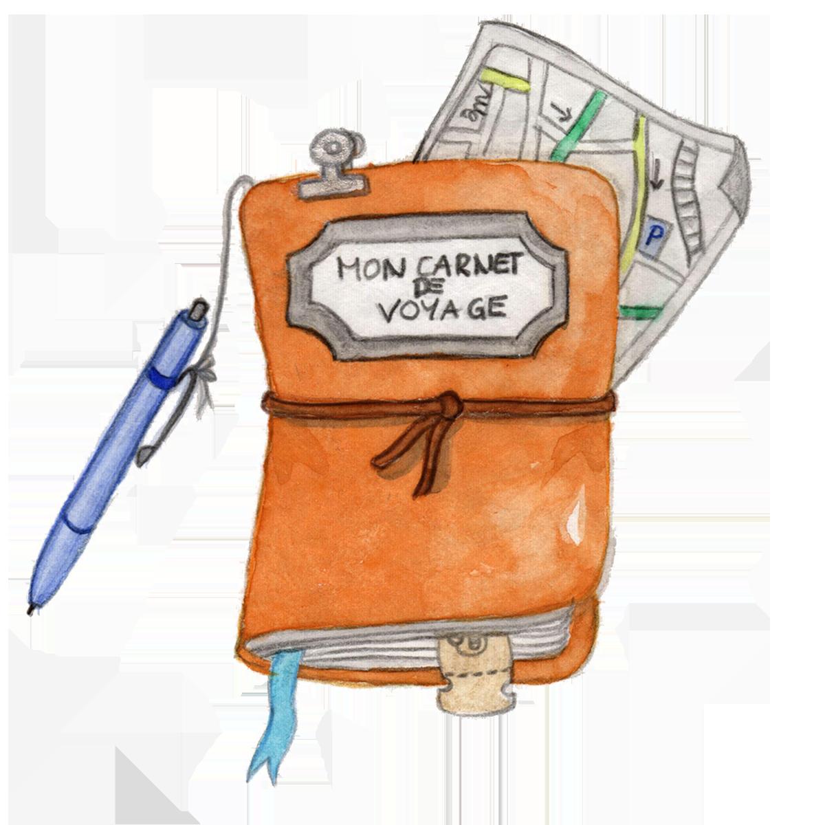 Shiny carnet de voyage – fini