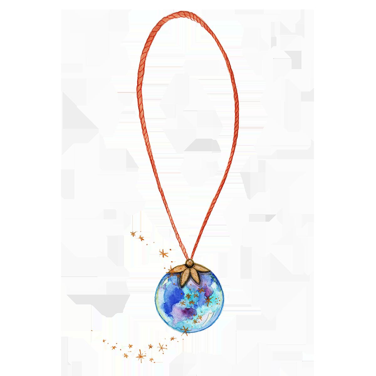 Shiny collier – fini